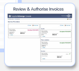 Review and Authorise invoices